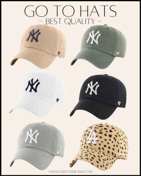 Best quality hats I always wear…all the teams   #LTKunder50 #LTKfit #LTKstyletip
