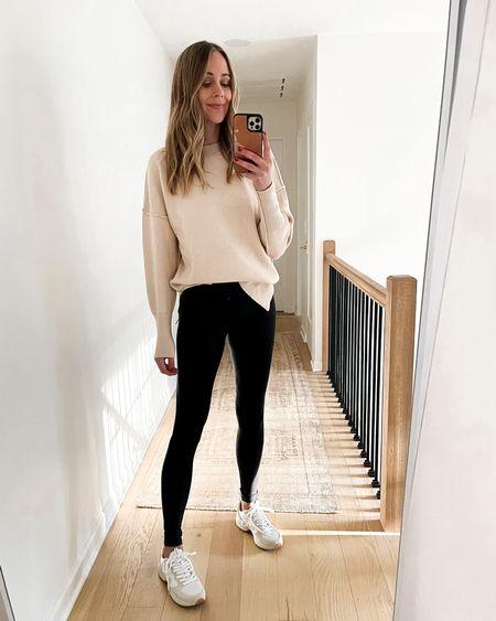 Amazon fashion sweater, amazon finds, #falloutfits #leggings #amazonfashion #amazonfinds #amazonsweater   #LTKunder100 #LTKstyletip #LTKunder50