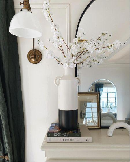 Jug vase and faux flowers on sale    http://liketk.it/3g5sp #liketkit @liketoknow.it #LTKhome #LTKunder100 #LTKsalealert