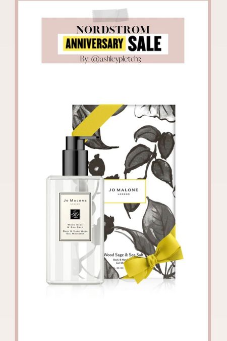 A Nordstrom Anniversary sale fave! Jo Malone scents are such a great gift and such a great price for this jumbo size! Nsale, Nordstrom,   #LTKunder100 #LTKbeauty #LTKsalealert