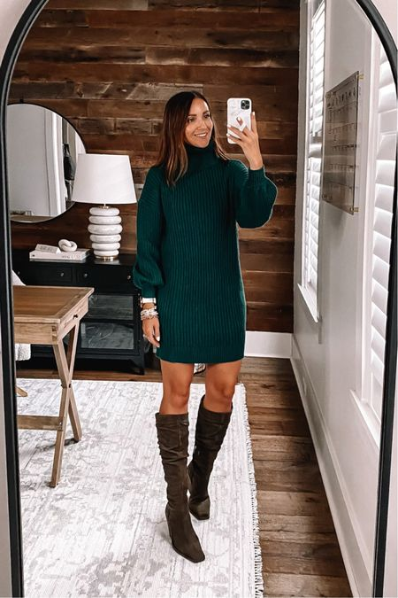Amazon sweater dress size small, fall family pictures outfit  #anna_brstyle