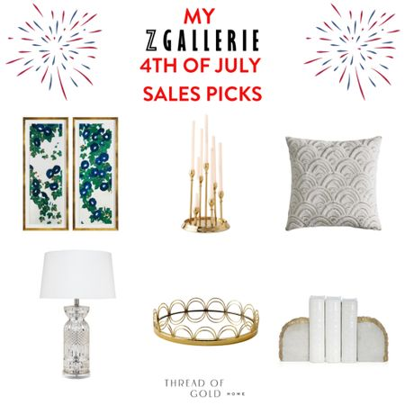 My Z Gallerie 4th of July sale favorites!   @liketoknow.it   #liketkit #LTKunder100 #LTKsalealert #LTKhome   http://liketk.it/3iOLM