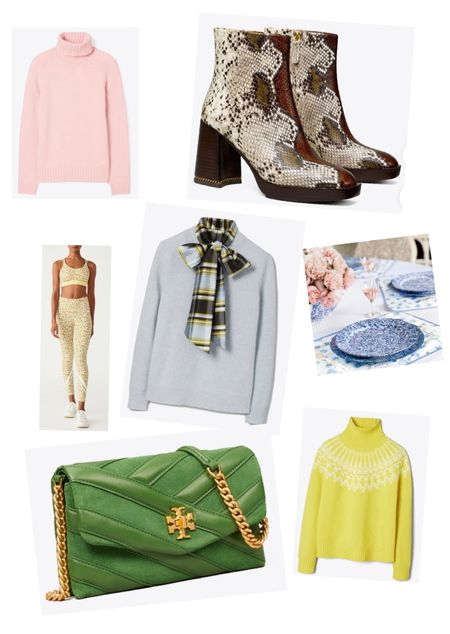 Tory Burch private sale only happens twice a year, so stock up now on some fall wardrobe staples at an incredible price. The snakeskin boots are so versatile and dickies are the new must have accessory for fall.  . #toryburchprivatesale #snakeskinboots #dickie #cashmeresweater #plaidseason   #LTKbacktoschool #LTKSeasonal #LTKsalealert