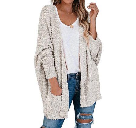 Shop this cozy cardigan for less than $50!  #LTKunder100 #LTKunder50