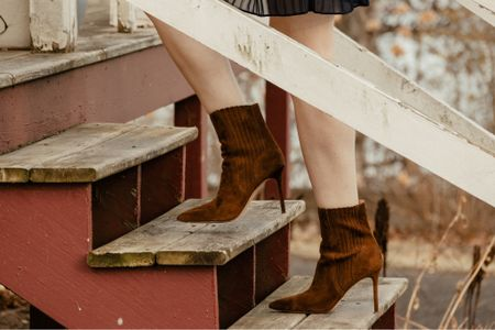 Gorgeous suede boots to get you through the winter season.  Booties that you'll love forever.    #LTKgiftspo #LTKshoecrush #LTKstyletip