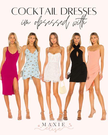 Cocktail Dresses I'm Obsessed With 🥂  #cocktaildress #summerfashion #revolve #cocktaildresssummer #datenightoutfit #revolvedress #summerdress #revolveclothing #whitedress #summeroutfits  #LTKstyletip #LTKSeasonal #LTKwedding