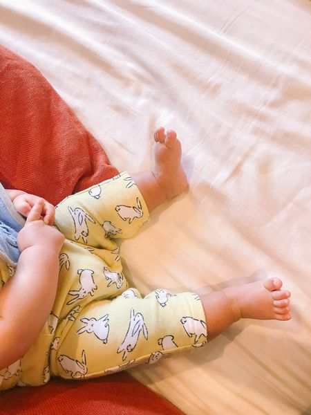The cutest baby clothes are these French terry one-piece. Love them and fits true to size and under $10. Also using a gingham duvet cover and linen pillow cover. // cute baby boy clothes.   #LTKfamily #LTKbaby #LTKhome
