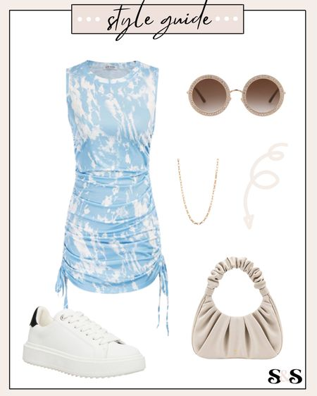 Love this amazon fashion tie dye dress! So cute to pair with sneakers for a casual everyday look💓 #amazonfashion #amazonfinds #amzazonfashionfinds #amazonprime #amazon #nordstrom #sneakers #whitesneakers #summeroutfits #casualoutfits #vacationoutfits   #LTKstyletip #LTKunder50 #LTKshoecrush