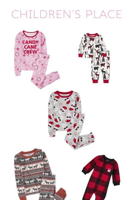 Children's Place Christmas Pjs  #LTKfamily #LTKbaby #LTKHoliday