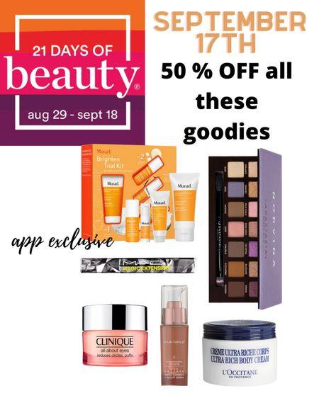 50% off all these beauty products at Ulta   #LTKbeauty #LTKsalealert #LTKSale