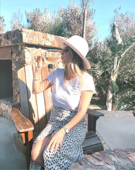 Wine tasting outfit! Skirt is old Abercrombie so I tagged some similar Abercrombie options 💕 http://liketk.it/3fvDD @liketoknow.it #liketkit #LTKfit #LTKstyletip #LTKunder50