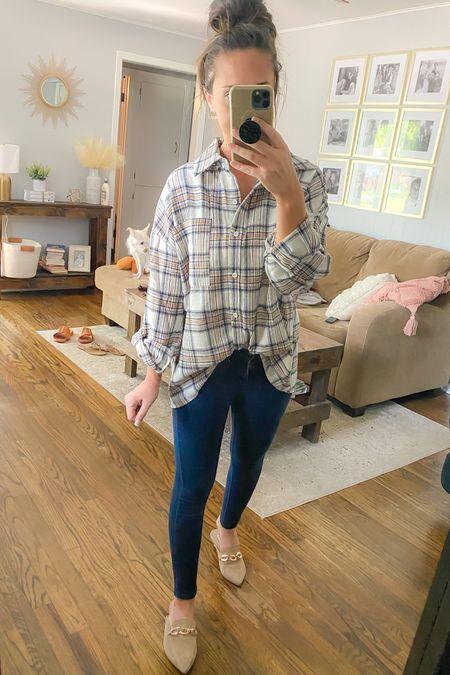 Oversized flannel, forever 21 finds, plaid shirt  #LTKsalealert #LTKstyletip #LTKunder50