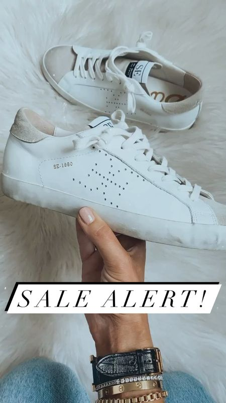 These Sam Edelman sneakers are on sale! They are on of the most comfortable pairs I have and have the look of golden goose for under $100!   #LTKsalealert #LTKunder100 #LTKshoecrush