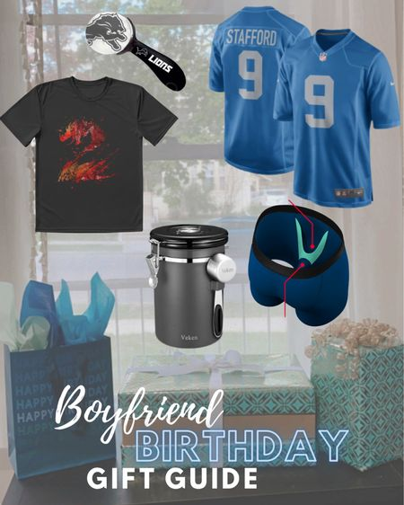 Not my typical content, but I wanted to share some gift ideas I came up with for my boyfriend's birthday! Have a sports loving gamer dude on your shopping list? He might like something like these!  #LTKmens #LTKunder100