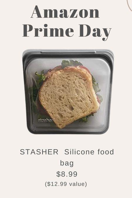 Last day amazon prime day - stasher reusable silicone snack bags on sale!   #LTKhome #LTKunder50 #LTKsalealert