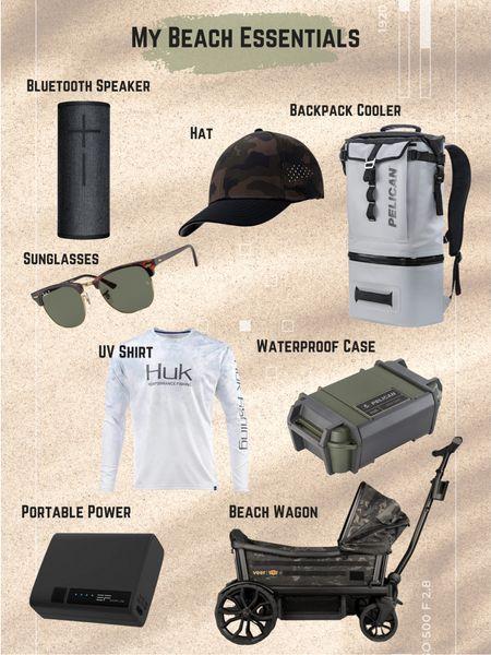 My beach essentials for guys   #LTKtravel #LTKfamily #LTKmens
