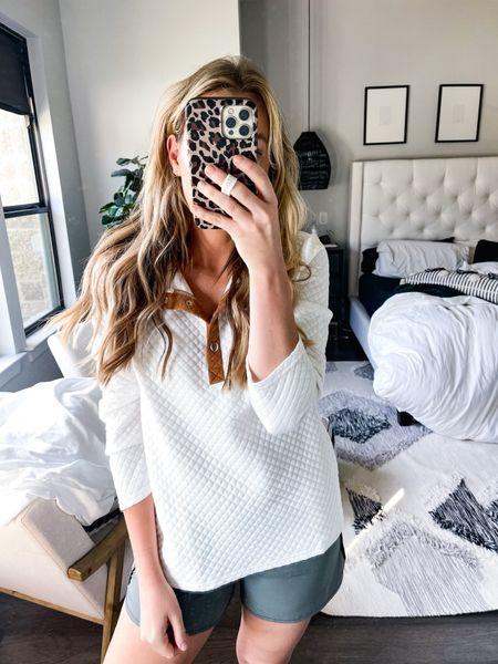 Amazon Abercrombie dupe pullover! Size medium!   #LTKstyletip #LTKsalealert #LTKunder50