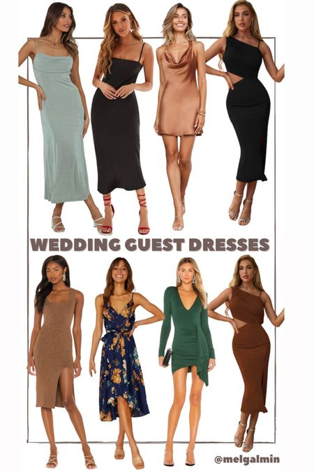 Wedding guest dresses fall 2021  #LTKstyletip #LTKwedding