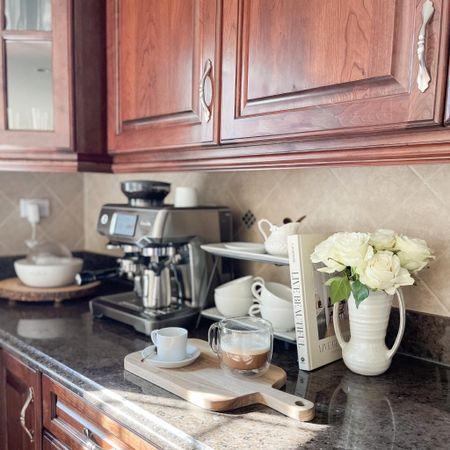 Favorite espresso machine + coffee essentials 🍂
