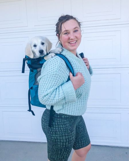 We are ready for puppy adventures! Isn't this backpack cute?! Shop your screenshot of this pic with the LIKEtoKNOW.it shopping app @liketoknow.it.home @liketoknow.it.family @liketoknow.it #liketkit #LTKcurves #LTKtravel #LTKunder100 http://liketk.it/3bjFB