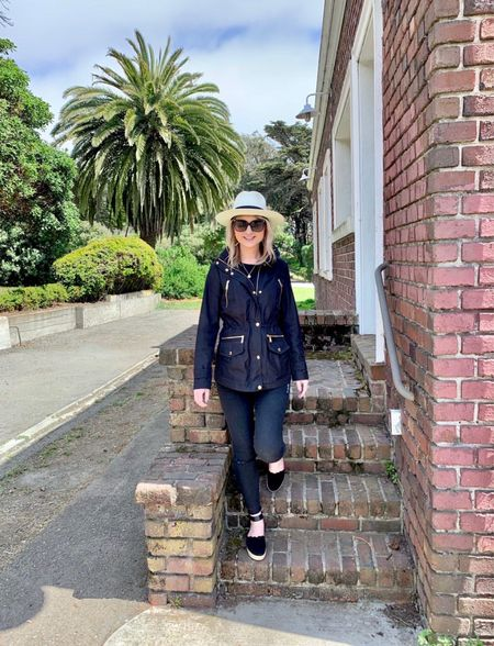 Fall is in the air! Such a fun casual but warm fall outfit for the chilly days ahead! #hat #gucci #spanx #michaelkors   #LTKunder50 #LTKunder100