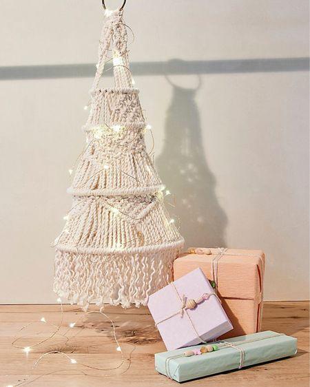 Macrame Christmas Tree  Boho Christmas Decor Christmas Decorations    http://liketk.it/31kSh #liketkit @liketoknow.it #LTKgiftspo #LTKhome