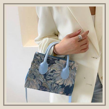 Floral graphic satchel purse bag  #LTKunder50 #LTKitbag #LTKstyletip