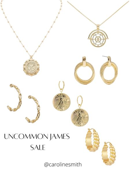 Uncommon James Jewelry Sale- up to 70% off!  #ujbabe #uncommomjames #jewelry   #LTKsalealert #LTKbeauty #LTKunder50