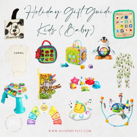 Gift Guide for Baby, Christmas gifts for baby, baby gifts  #LTKbaby #LTKGiftGuide #LTKHoliday