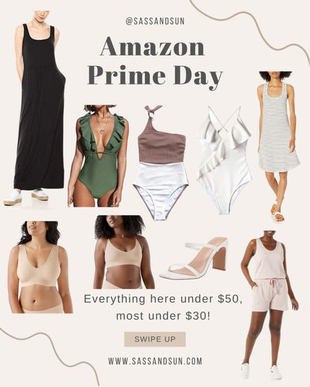 Amazon Prime Day Deals  #LTKsalealert #LTKunder50 #LTKswim