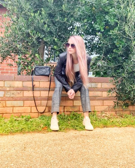 Blazer, pants, sneakers, sunglasses      http://liketk.it/3hArF #liketkit @liketoknow.it #LTKworkwear #LTKstyletip #LTKshoecrush @liketoknow.it.europe @liketoknow.it.australia #ltk #likeit #shopit Shop your screenshot of this pic with the LIKEtoKNOW.it shopping app