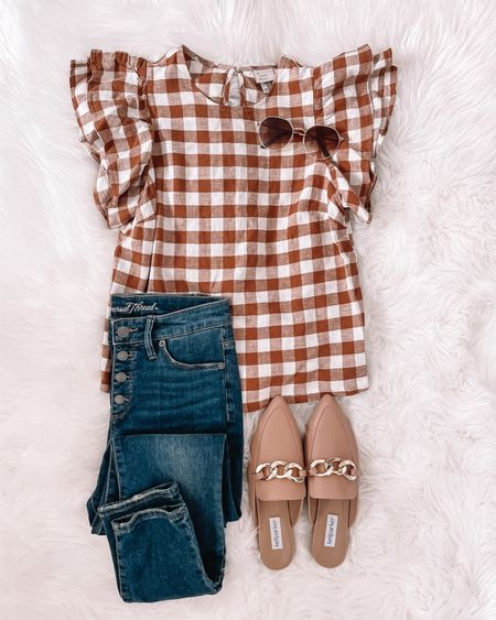 Don't miss the Target try on over on my stories right now. It's full of goodness like this super cute top and jeans 🙌🏻  Follow my shop on the @shop.LTK app to shop this post and get my exclusive app-only content!  #LTKshoecrush #LTKstyletip #LTKunder50