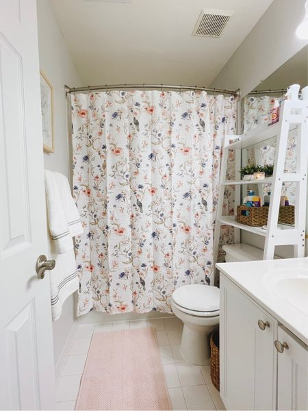 My bathroom makeover! 💕 all from target  #LTKhome #LTKunder100 #LTKsalealert