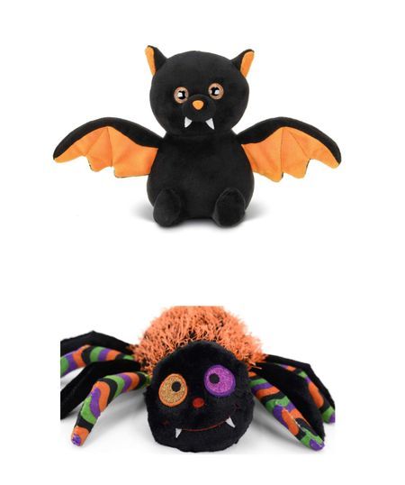 Cute affordable stuffed animal for Halloween basket Bat Ghost  Cat Halloween decor  Amazon finds    #LTKSeasonal #LTKkids #LTKbaby