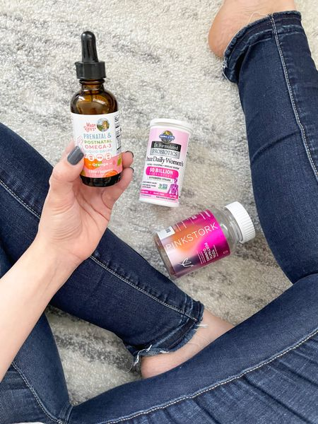 Try It Out Tuesday: Vitamin Update   ✨ @maryruthorganics Omega 3 drops: When I was pregnant, getting adequate DHA was top priority for me; however finding one that was plant-based proved challenging. Enter my love affair with Mary Ruth's products, and I found several options I loved. I'm still on my breastfeeding journey, so DHA continues to be at the forefront of my mind. These drops are great, if you prefer liquid to a solid or gummy. Personally, the taste is not my favorite, so I'll likely stick to the gummy version. #gifted #maryruthpartner #stackinfluence #ad  ✨ @GardenofLife Probiotics: I started supplementing with a probiotic when I was in law school after months of battling back-to-back sinus infections. One of the PAs I saw often recommended adding one to my regime, and I can honestly say that it's improved my overall health greatly. I personally never struggled with tummy or potty problems but many of the reviews say that it helped with those. My recommendation is to look for one that has at least 30 million CFU (colony forming units) to get the most benefit.   ✨ @pinkstork Post-Natal Vitamin: I'm a sucker for gummy vitamins that are effective but gelatin-free. These are awesome, and definitely meet my postpartum needs. Unlike many other brands, you're only required to take 2 per day. They don't bother my stomach and taste delish!   *DISCLAIMER - I am not a doctor. The foregoing is based solely on my personal experience. Please consult a medical professional if you have any questions.