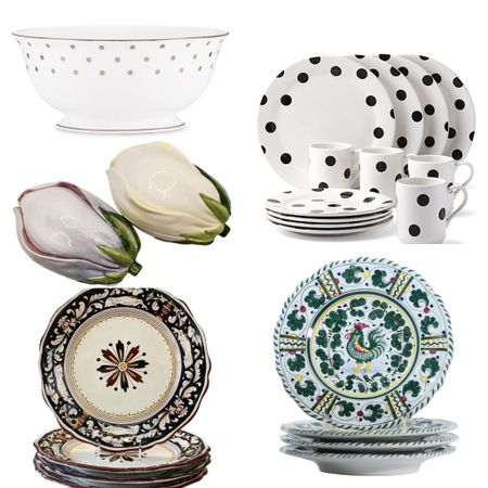 The unique  tableware  always make a beautiful memory for every celebration. The fun is in mixing and matching.   #LTKHoliday #LTKGiftGuide #LTKhome