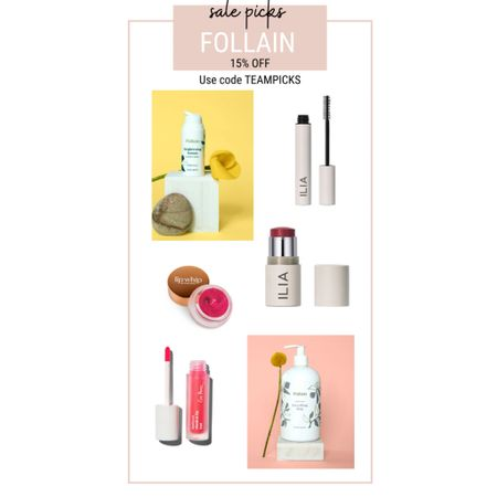 15% OFF at Follain!  Clean beauty products on sale!   #LTKbeauty #LTKsalealert