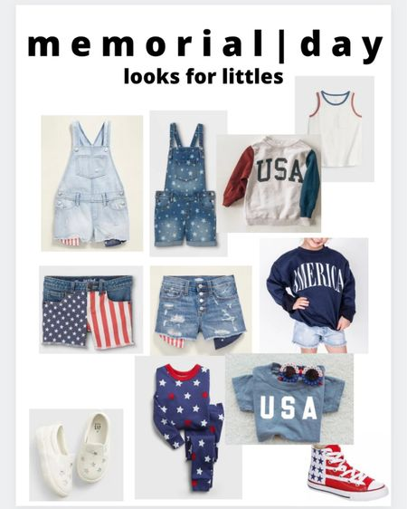 Memorial Day faves for the littles! http://liketk.it/3g5RI #liketkit @liketoknow.it #LTKunder50 #LTKstyletip #LTKkids