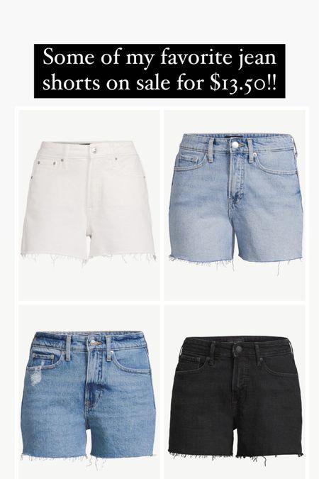 Jean shorts in four colors on sale for 13.50! Walmart deal days    #liketkit http://liketk.it/3iaUC @liketoknow.it #LTKunder50 #LTKsalealert #LTKstyletip