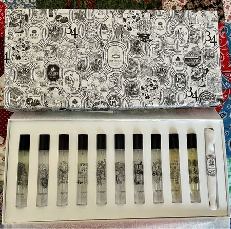 Loving this set of mini perfume sprays from Diptyque. Such a great way to try a lot of the fragrances.   #LTKbeauty