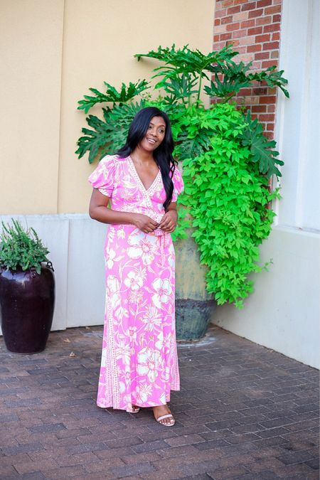 Pink is my forever fave! Love this two piece set from Lilly Pulitzer! The sleeves and floral design are beautiful.  #LTKtravel #LTKworkwear #LTKstyletip