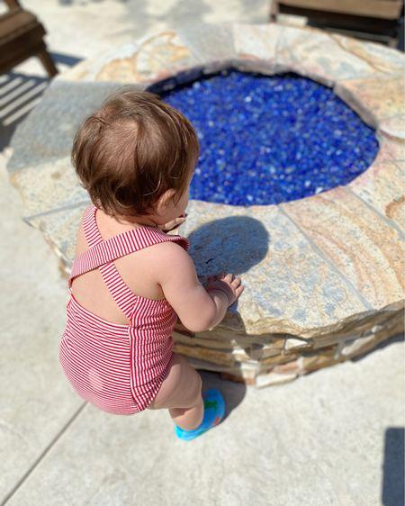 Cutest baby girl one piece bathing suits #LTKbaby #LTKswim #ltksummer http://liketk.it/3gYfl #liketkit @liketoknow.it