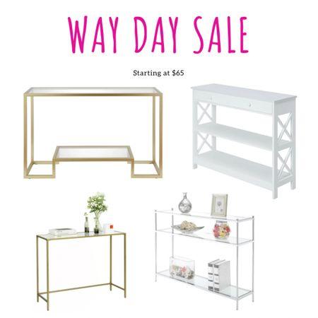 Way day sale entry way table starting at $65 #wayfair #waydaysale http://liketk.it/3dYCa #liketkit @liketoknow.it #LTKstyletip #LTKsalealert #LTKhome
