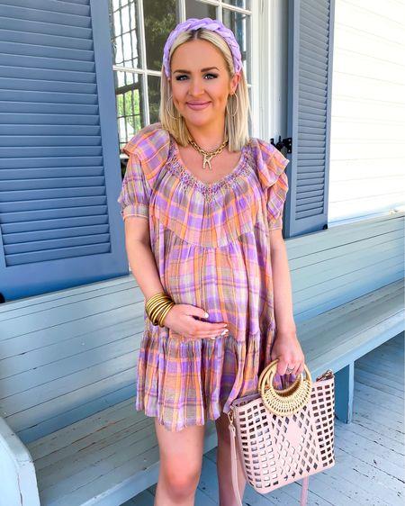 Amazon Prime Day deals! Free People Amelie plaid dress is 20% off.. I'm wearing the XS, needed the SM for length!  http://liketk.it/3i7XA @liketoknow.it #liketkit #LTKsalealert #LTKbump