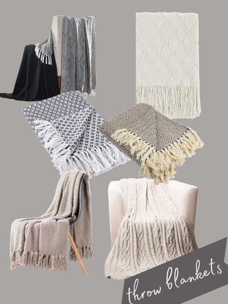Fabulous throw blankets    #LTKstyletip #LTKunder100 #LTKhome