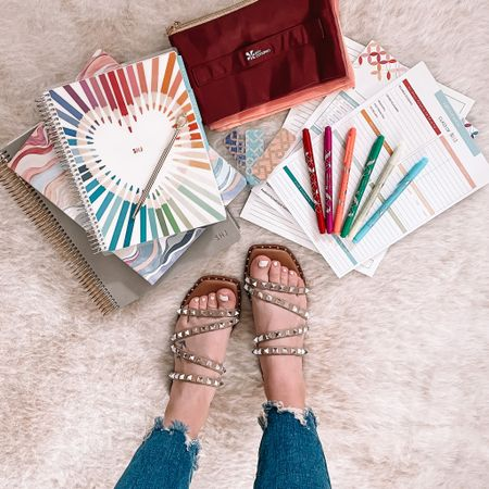 Where are my teacher friends at?! 👩🏻🏫 The NEW @erincondren Teacher Lesson Planners + accessories launched today for EC Insiders!! 🙌🏼 There are SO many cute planner options to choose from and the accessories are 👏🏼. I've linked my favorites in the LIKEtoKNOW.it app so head to the link in my bio to shop for yourself or for your most favorite teacher! 🤍 I plan to shop for myself today 🤣 + I'll let you know what I pick up!! http://liketk.it/3cdQz #liketkit @liketoknow.it #LTKshoecrush #LTKsalealert #LTKunder100