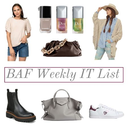 The BAF weekly IT list is here! 💃🏻 head over to the blog to read all about it, or shop it here ❤️❤️❤️🍁  #LTKitbag #LTKSeasonal #LTKshoecrush