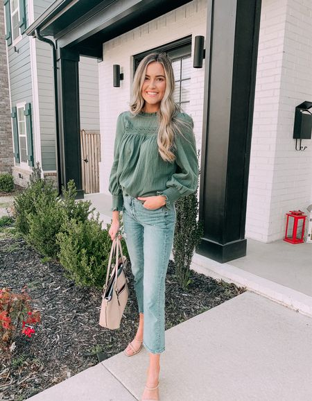 The best jeans to transition for all seasons! #fallstyle get ready for fall with loft and these jeans 40% off!  #LTKsalealert #LTKstyletip #LTKworkwear