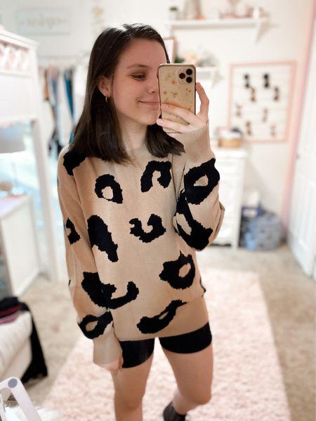 Outfit idea! All true to size (wearing medium in sweater for oversized look though. #amazonfashion #targetstyle   #LTKstyletip #LTKSeasonal #LTKunder50