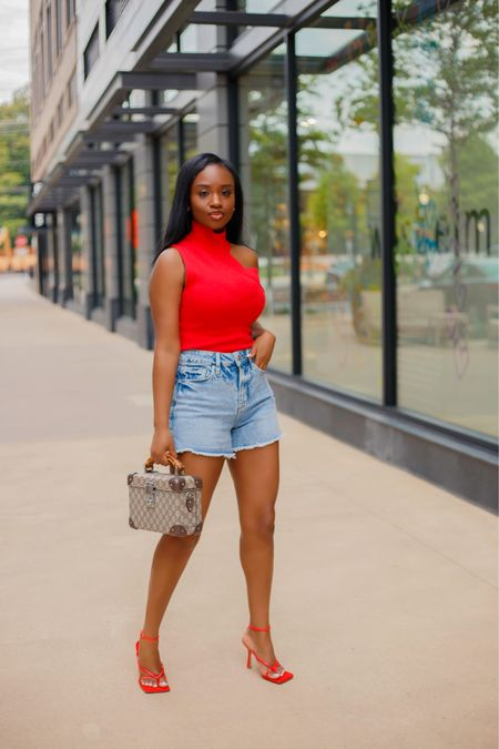 Cut-Outs and Cut-Offs ✨ Perfect fit to battle this heat wave 🥵  Outfit linked on my blog {www.prissysavvy.com} and via link in my bio  . .  #liketkit #ootd http://liketk.it/3iKZ4 #summertrends #dmvblogger @liketoknow.it
